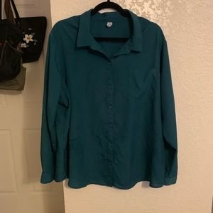 Old Navy Button Down Long Sleeve XXL